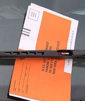 parking ticket...avoided.  Valuable Information...acquired.