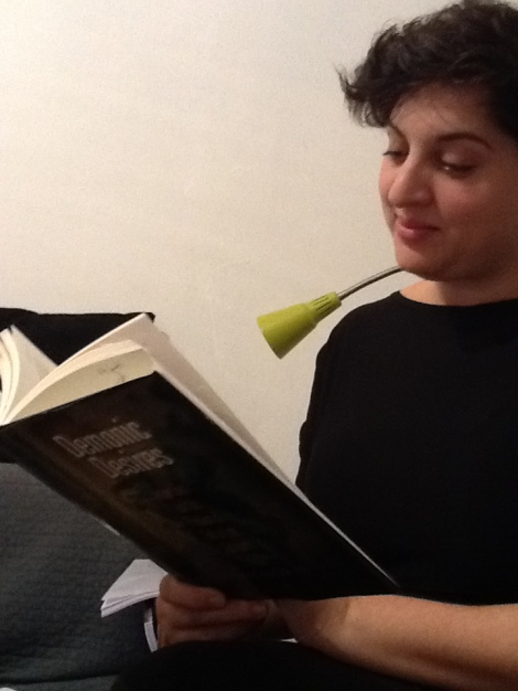 Talmud Blog reader Yael Fisch prepares for the TBBC