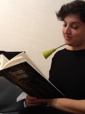 Talmud Blog reader Yael Fisch prepares for the TBBC