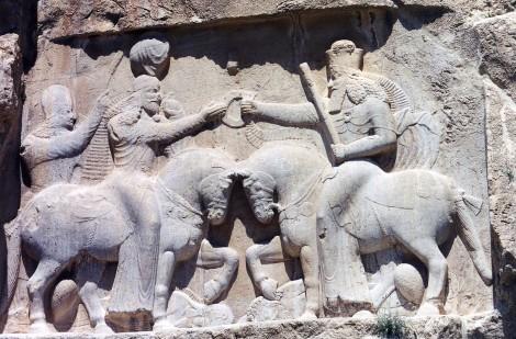 Relief of Ardashir I's Investiture at Naqsh-i Rustam