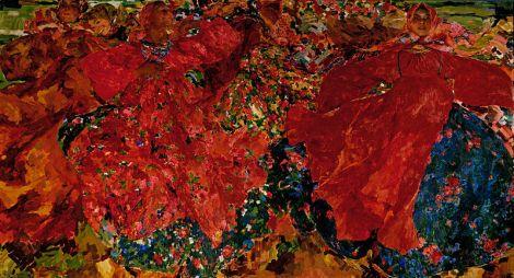 "Filipp Malyavin, ""Whirlwind"" (1906)"