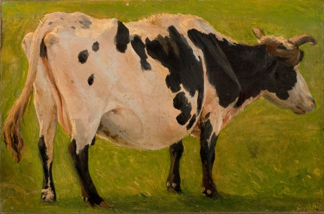 Carlo_Dalgas_-_Black_and_white_cow_standing._Study._-_Google_Art_Project_(PwEnN2cijBPCNA) (2)